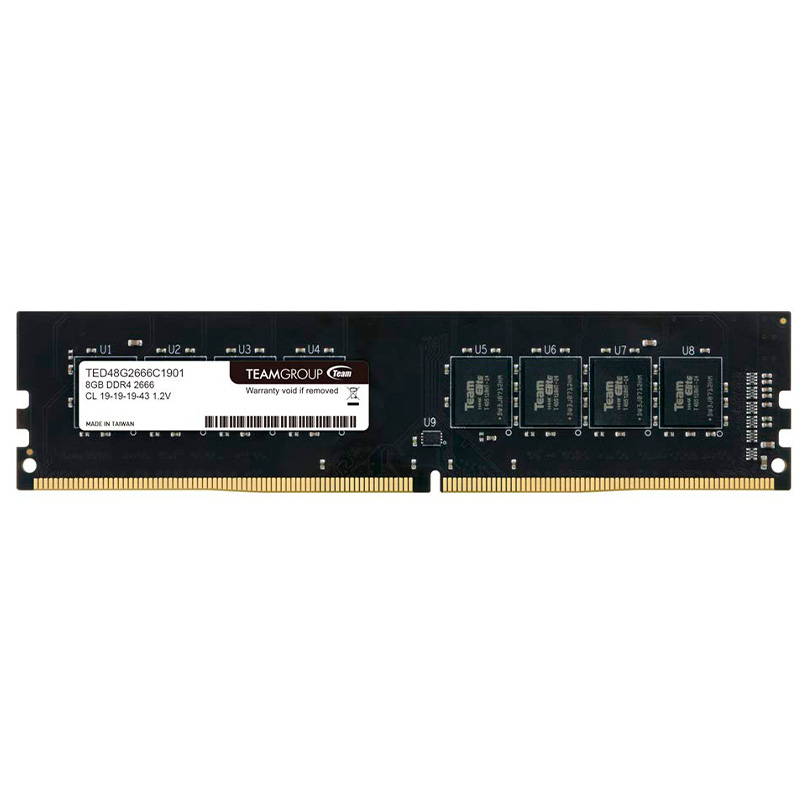 Memoria Ddr4 8gb 2666mhz Team Group Ted48g2666c1901