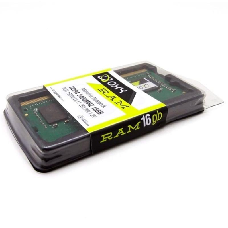 Memória Para Notebook Ddr4 16gb 2400mhz Oxy