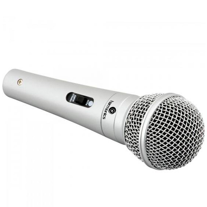 Microfone Com Fio 4.5m Harmonic Vhf Mdc201