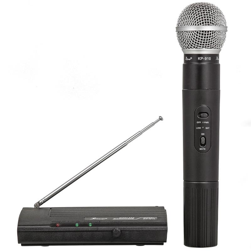 Microfone Profissional Sem Fio Knup Kp-910