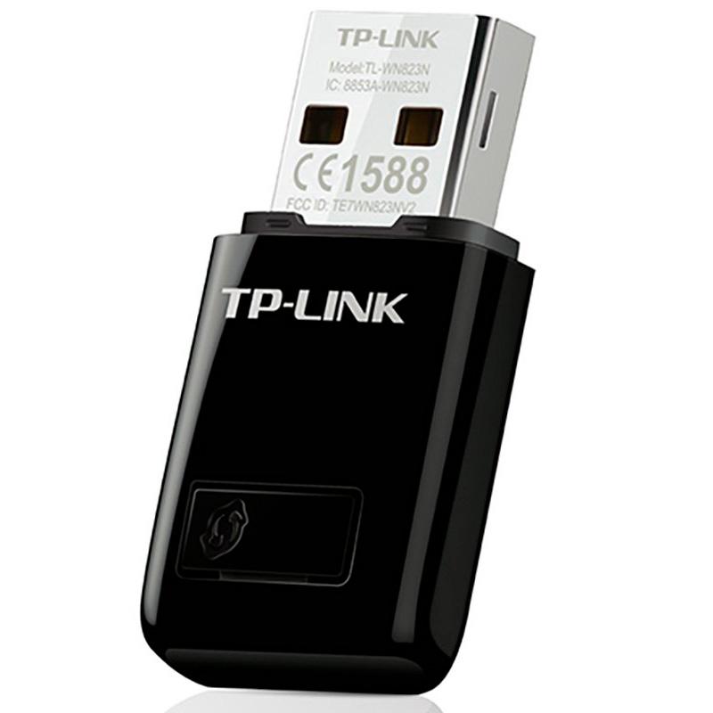 Mini Adaptador Wireless TP-Link USB 300Mbps - TL-WN823N