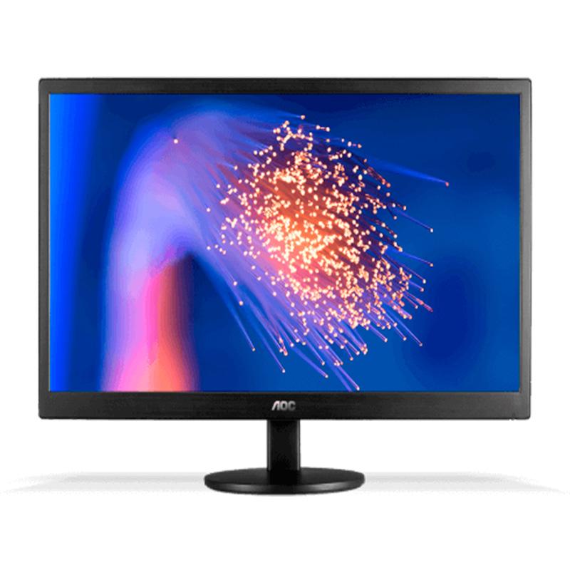 Monitor Led 21.5 Pols Corporativo Aoc E227pweh Hdmi Vga - Ajuste De Altura E Rotação