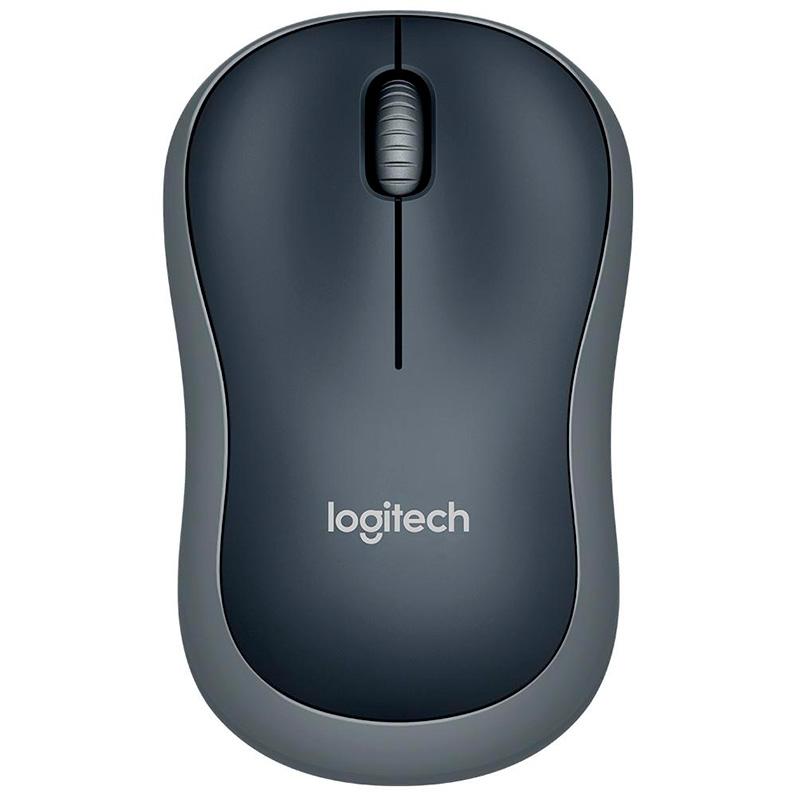 Mouse Sem Fio Logitech M185 Preto 910-002225