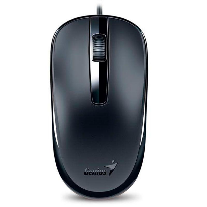 Mouse Usb Genius Stream Dx-120 Preto 1200 Dpi 31010105100