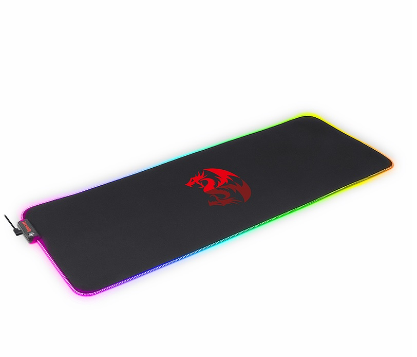 Mousepad Gamer Redragon Neptune RGB 800x300x3mm GG (Teclado e Mouse) - P027