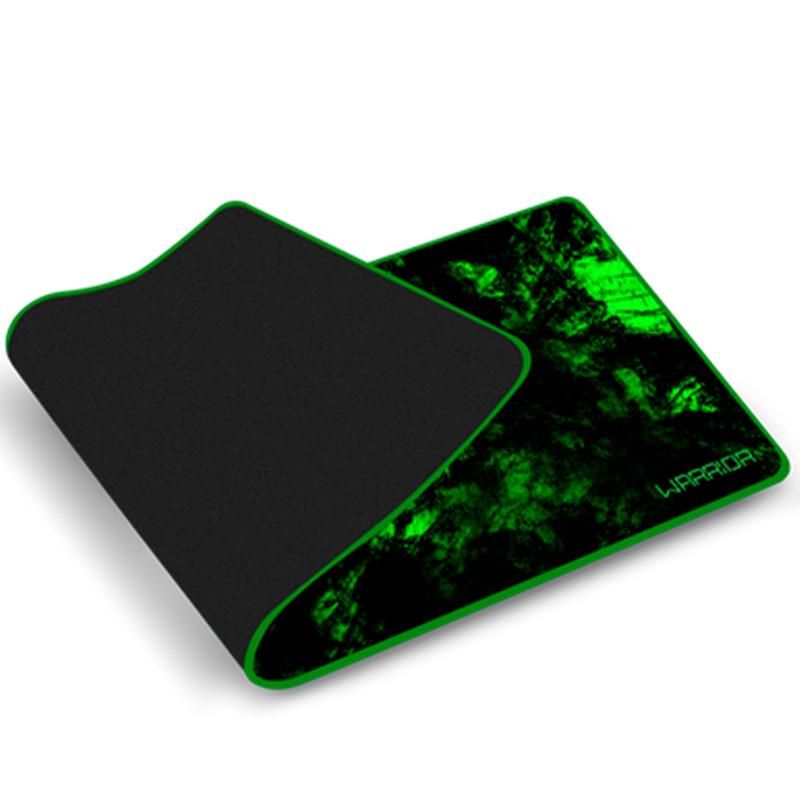 Mousepad Gamer Warrior Verde Para Teclado E Mouse Ac302