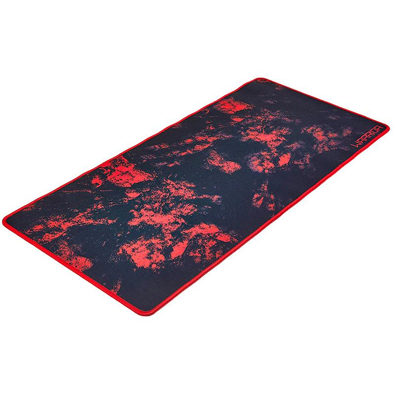 Mousepad Gamer Warrior Vermelho Para Teclado E Mouse Ac301