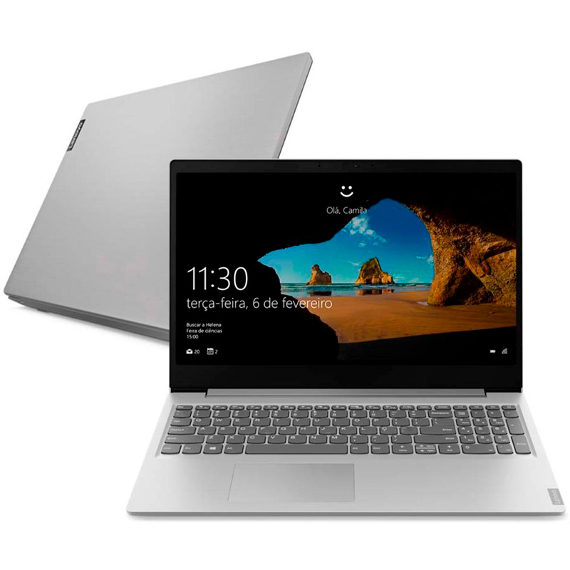 Notebook Lenovo Ultrafino Ideapad S145 AMD Ryzen 7 8gb 256 Ssd Win10 15.6 Pols - 81V70000BR