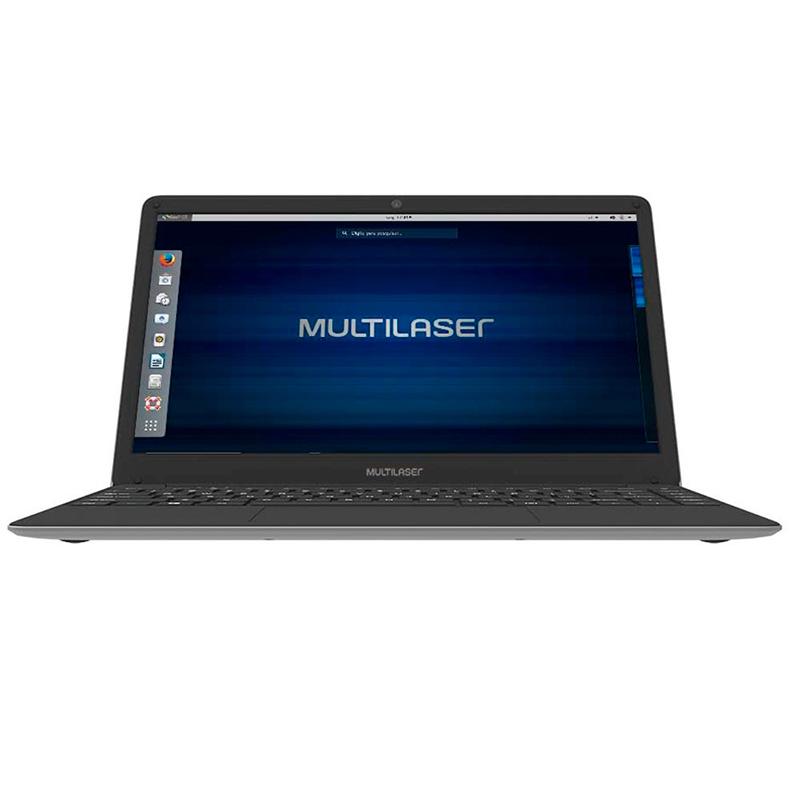 Notebook Multilaser Legacy Book Pc232 Celeron 4gb 120gb Ssd Win10 14 Pols Prata