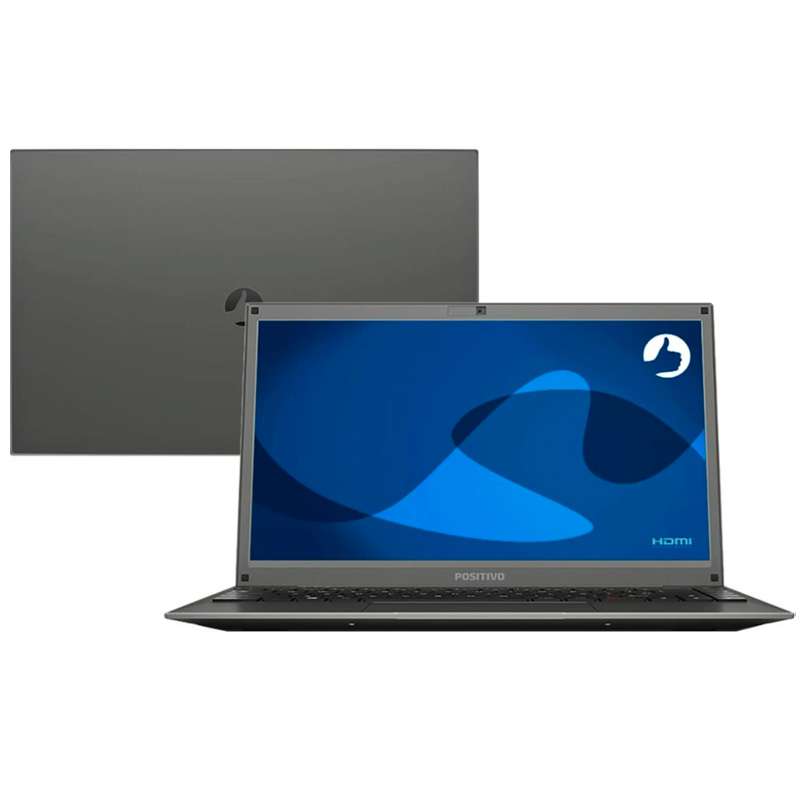 Notebook Positivo Motion C41TCI Celeron N4000 4gb 1tb 14 Pols Win10 Trial - 3001494