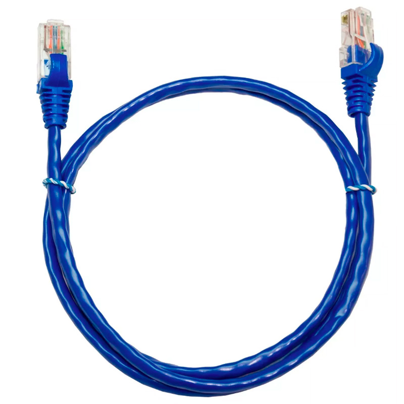 Patch Cable Cabo De Rede Pronto 1.5m Cat5-e Le-301- Azul