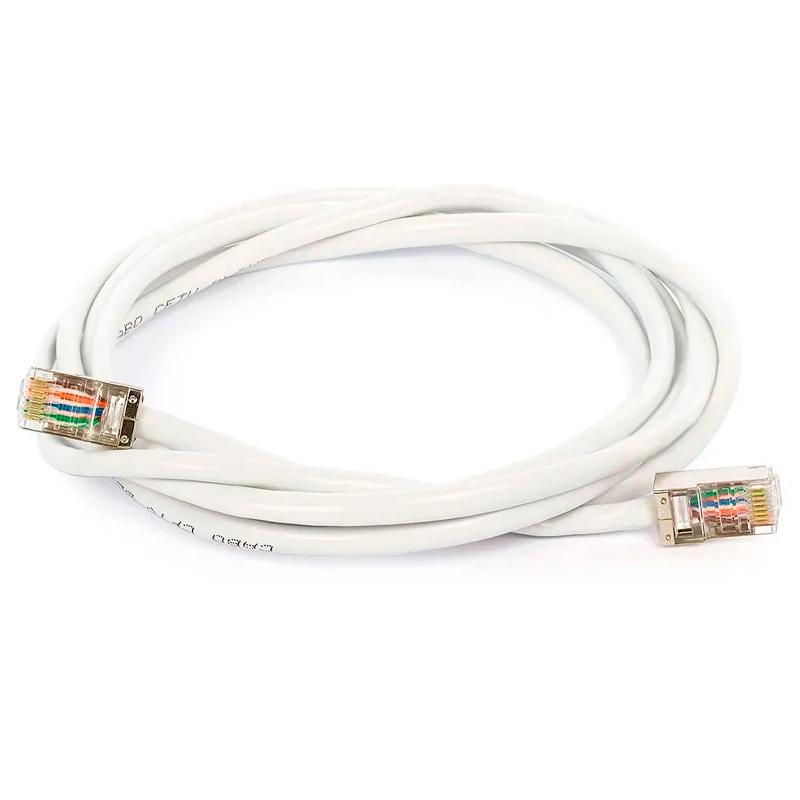 Patch Cable Cabo De Rede Pronto 2m Cat5-E - Branco