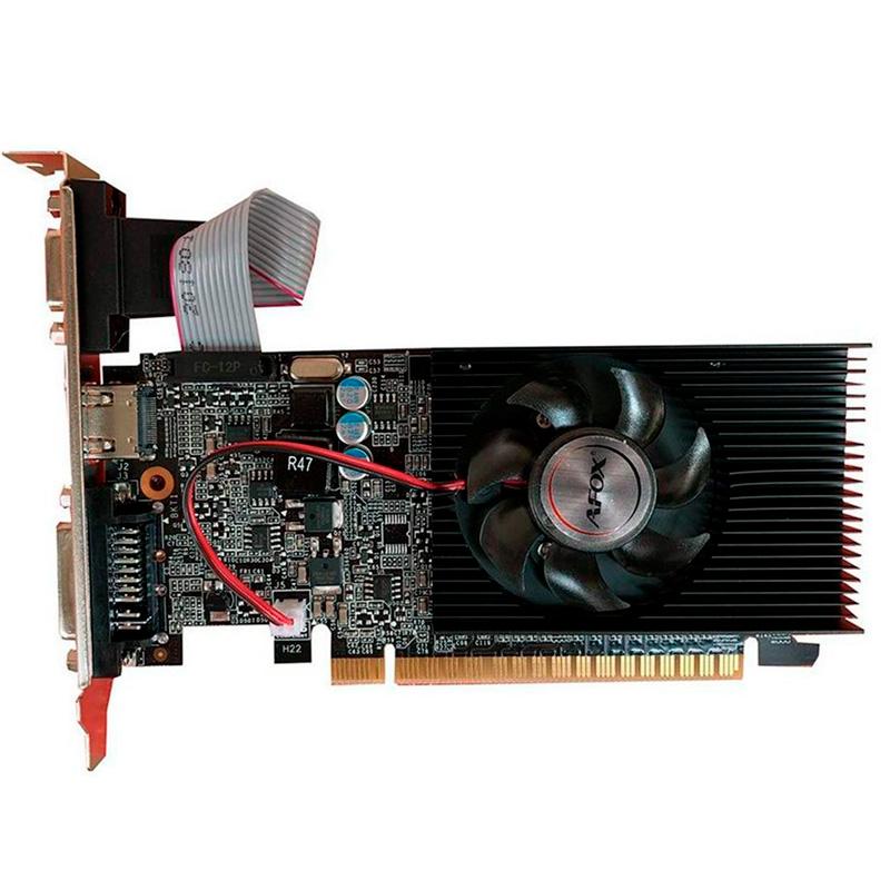 Placa De Video 1gb Ddr3 Afox Gt210 Geforce 64bits Dvi Hdmi Vga