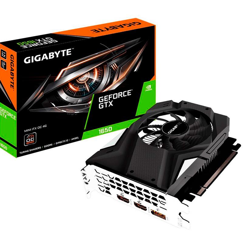 Placa De Video 4gb Gddr5 Gigabyte Nvidia Gtx1650 Oc Gv-N1650ixoc-4gd 128bits 8002mhz 2xhdmi Displayport