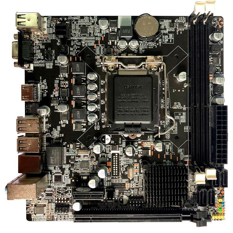 Placa Mae Bluecase Bmbh61-M Ddr3 16gb Vga Hdmi Socket 1155 Bulk