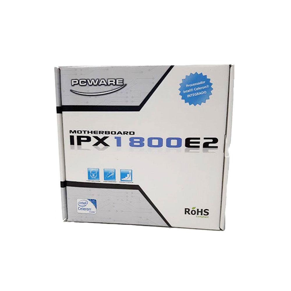 Placa Mae Pcware IPX1800E2 Celeron 2.41Ghz Vga Hdmi