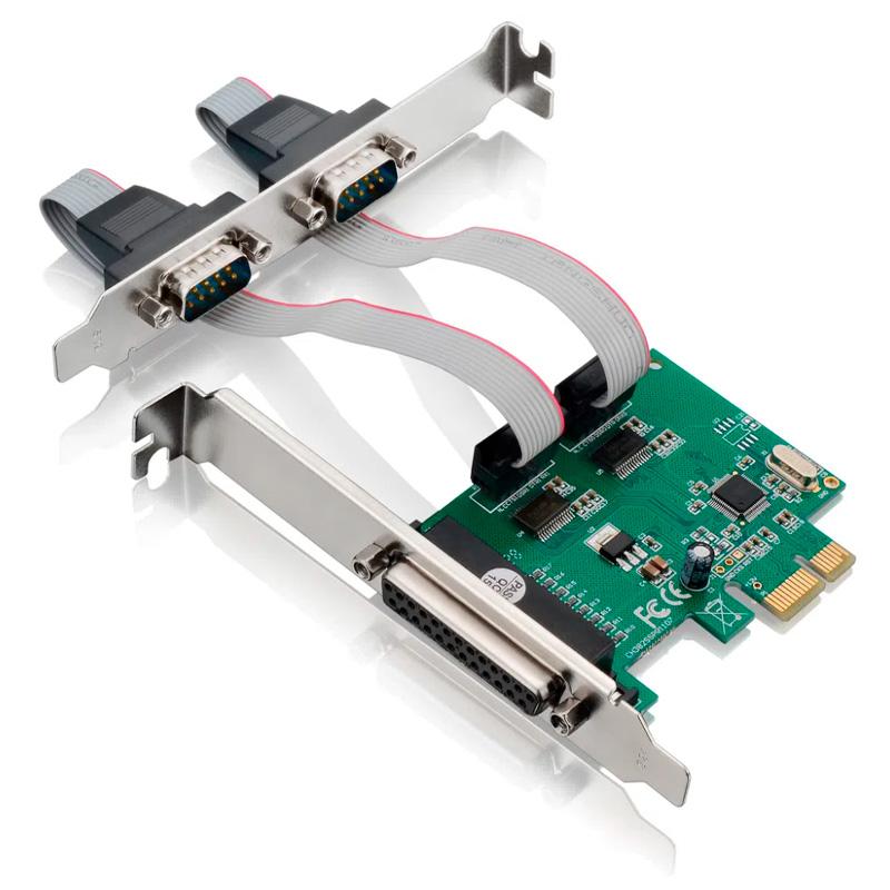 Placa Pci-e 2 Portas Serial e 1 Paralela Multilaser - GA128