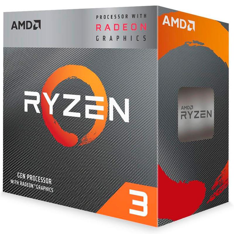 Processador AMD Ryzen 3 3200G 3.6ghz 6mb Lga AM4 - YD3200C5FHBOX