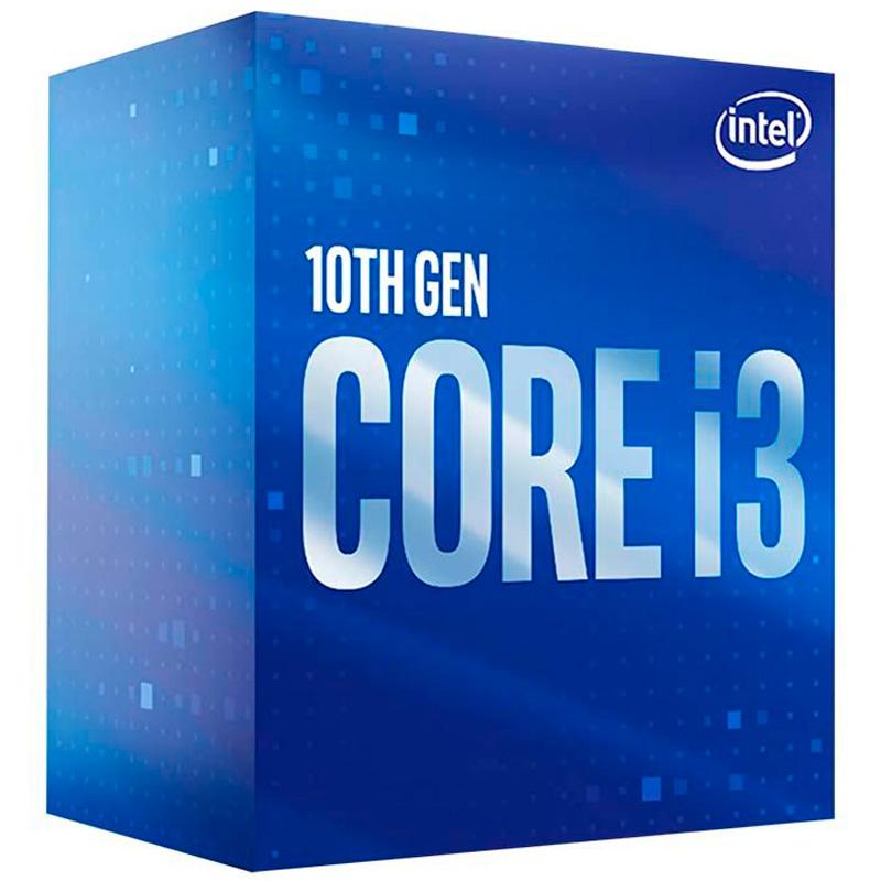Processador Intel Core I3-10100 3.6ghz 6mb 10a Lga 1200 -Bx8070110100
