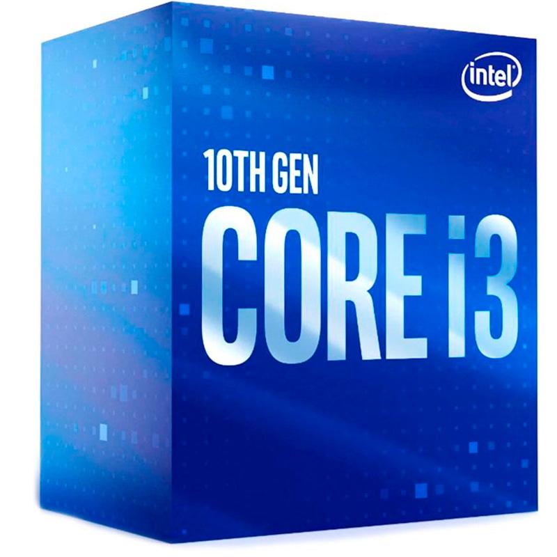 Processador Intel Core I3-10100f 3.6ghz 6mb 10a Geração Lga 1200 S/ Placa Grafica - BX8070110100F