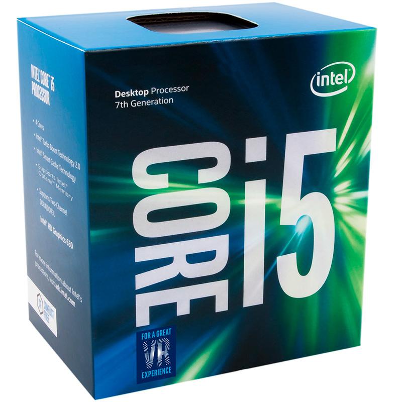 Processador Intel Core I5-7400 3.0ghz 6mb Lga 1151 -Bx80677i57400