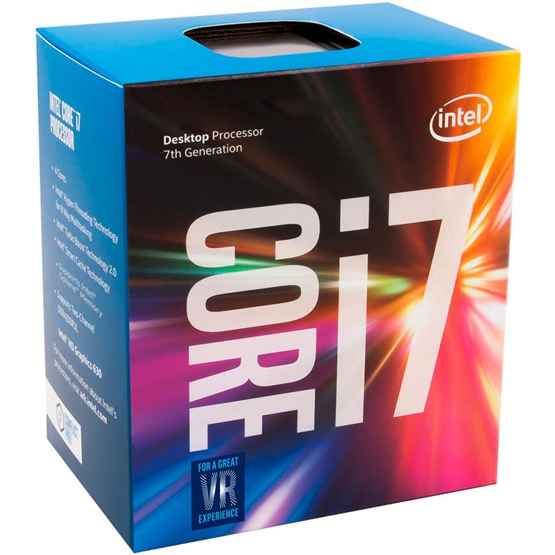 Processador Intel Core I7-7700 3.6-4.2ghz 8mb Cache Lga 1151