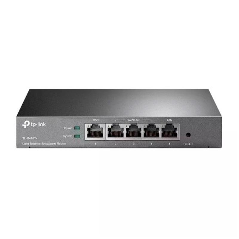 Roteador Sem Fio Tp-Link Tl-R470t+ Load Balance Para 3 Operadoras 64mb