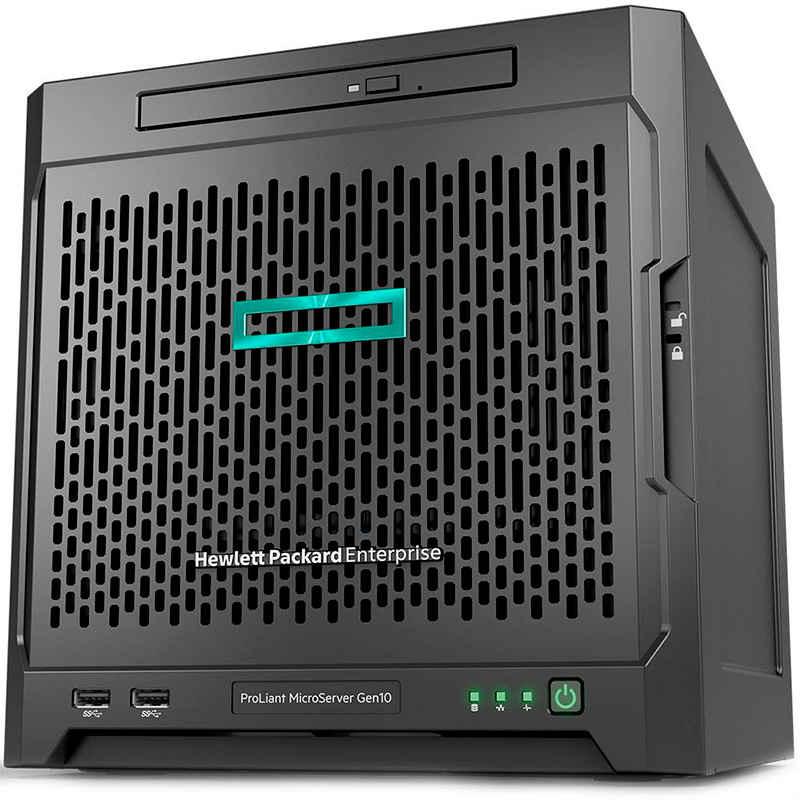 Servidor Hp Proliant Microserver Gen10 Amd Opteron X3216, 8gb, 2tb Pn 873830-2tb