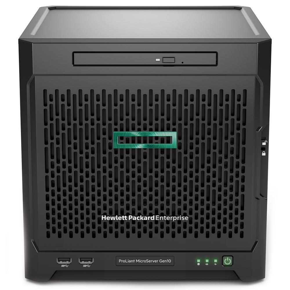 Servidor Hp Proliant Microserver Gen10 Amd Opteron X3418, 8gb, 2tb Pn P07203-2tb