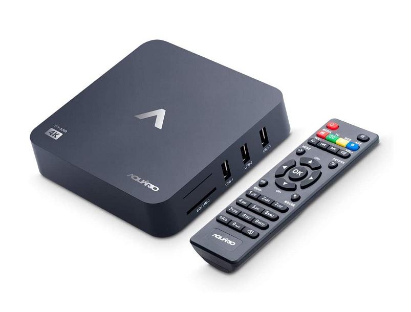Smart Tv Box Aquario 4K Android 7.1.2 Nougat - STV-2000