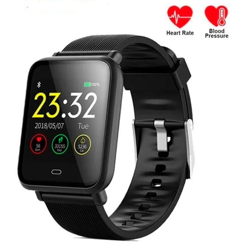 Smart Watch International Bluetooth J10 Fitness Heart Rate Preto
