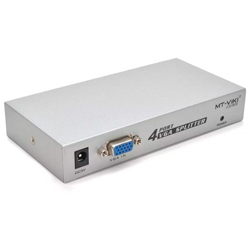 Splitter De Video Vga 4 Portas 4 Monitores 200mhz