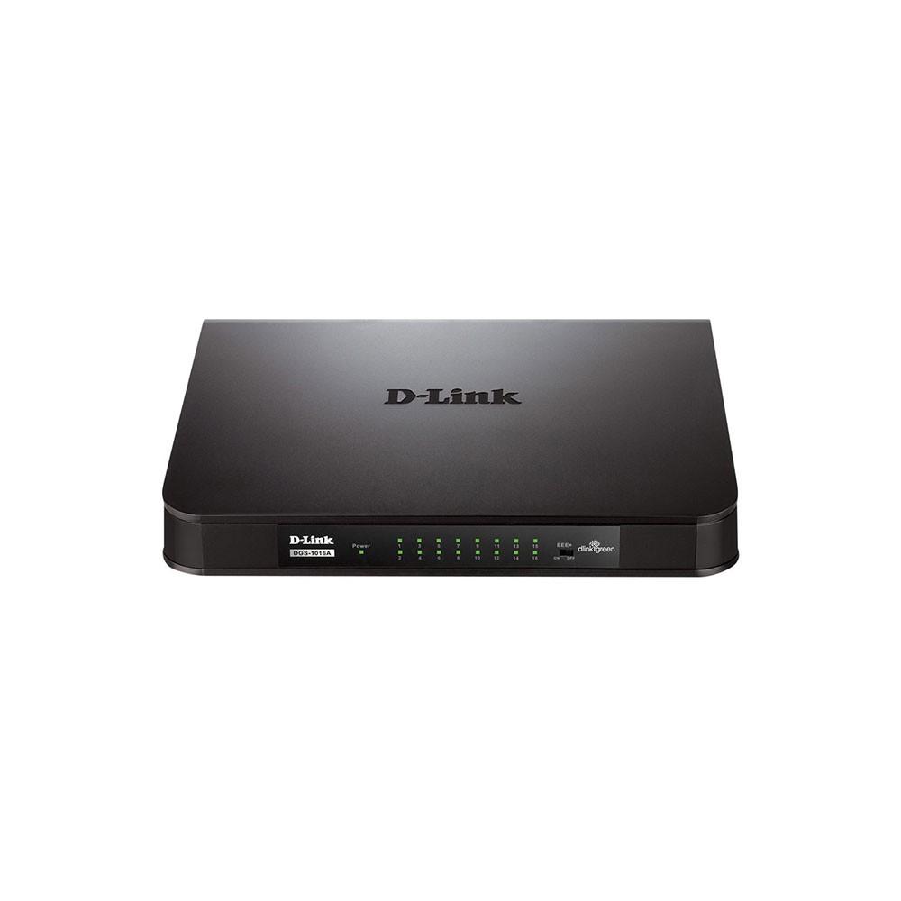 Switch 16 Portas 10/100 Mbps D-Link Des-1016a
