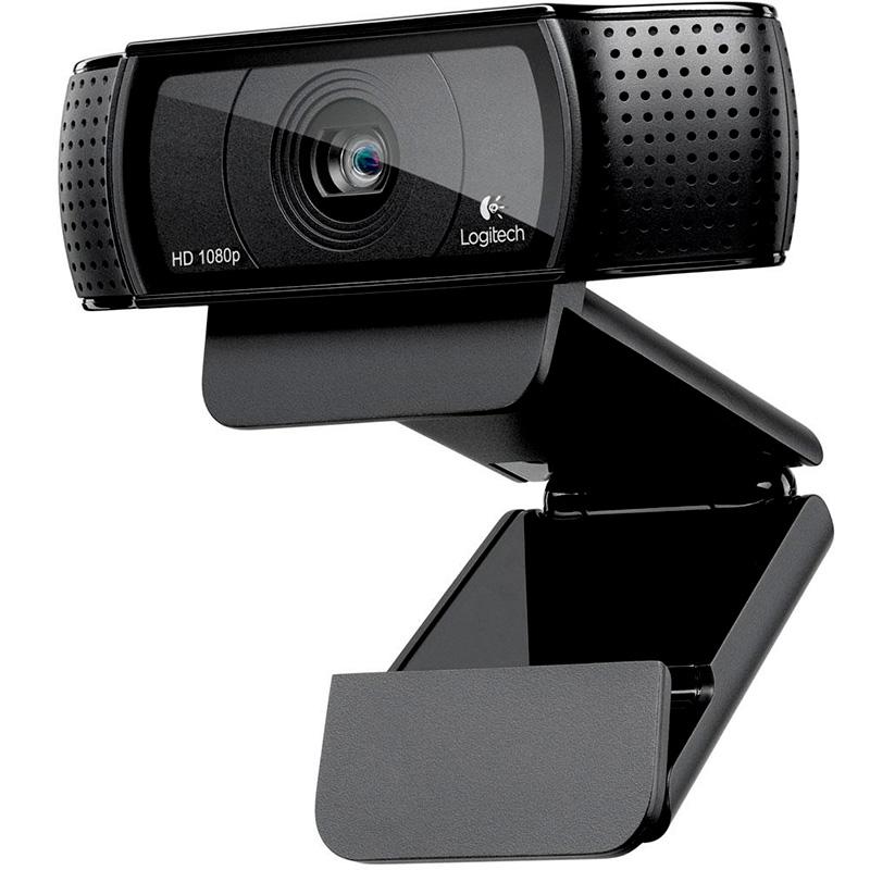 Webcam Logitech C920 Pro 960-000764 Full Hd 1080p 30fps Video Chamada Foco Automático