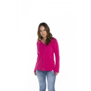 Blusa Feminina Decote V Pink