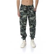 Calça Tactel Masculina Camuflada Militar