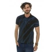 Camisa Pólo Efeitos Diagonal