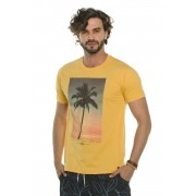 Camiseta Decote Redondo Palm