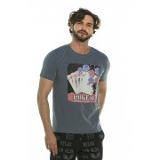 Camiseta Decote Redondo Poker