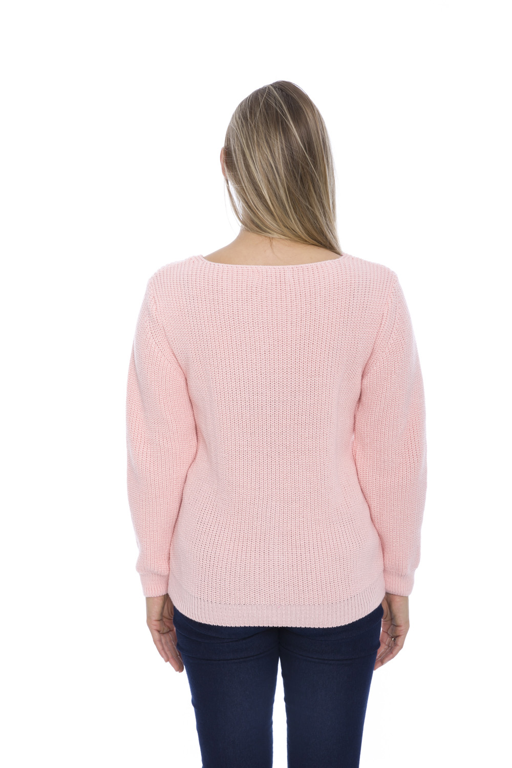 Blusa de Tricot Candy Color - Rosa