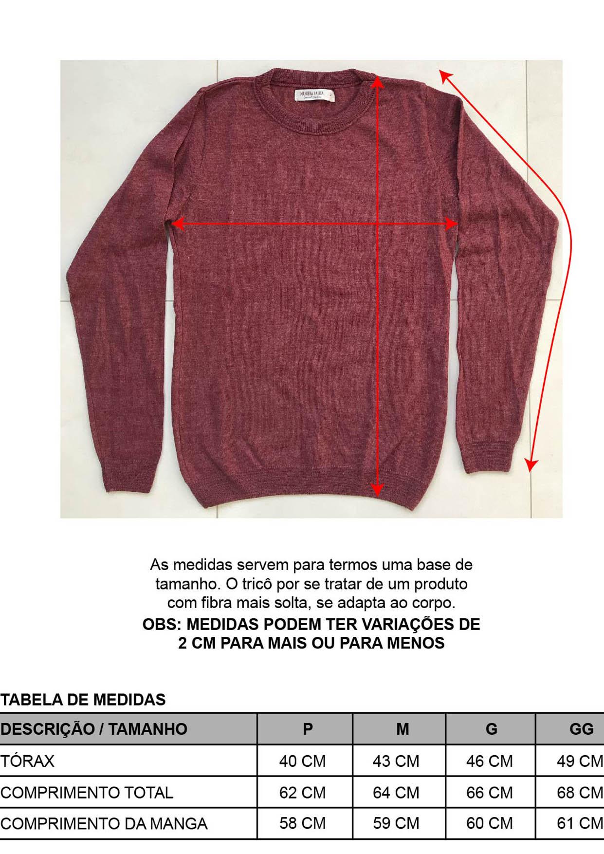 Blusa Decote Redondo Feminina Preta