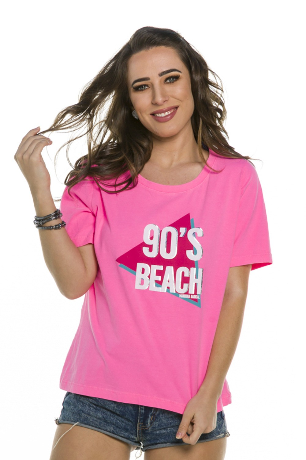 Blusa Estampa 90's Beach