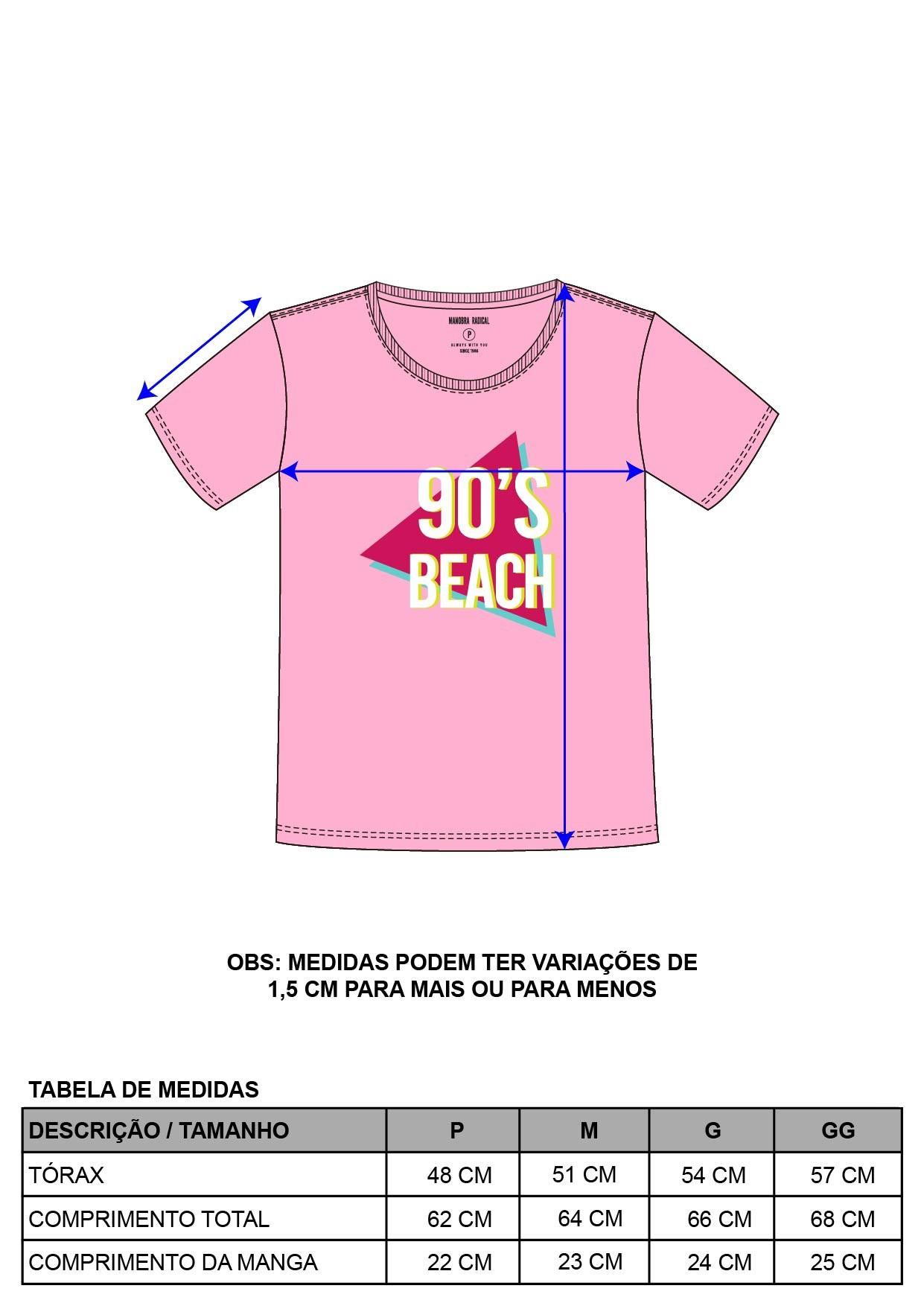 Blusa Estampa 90's Beach