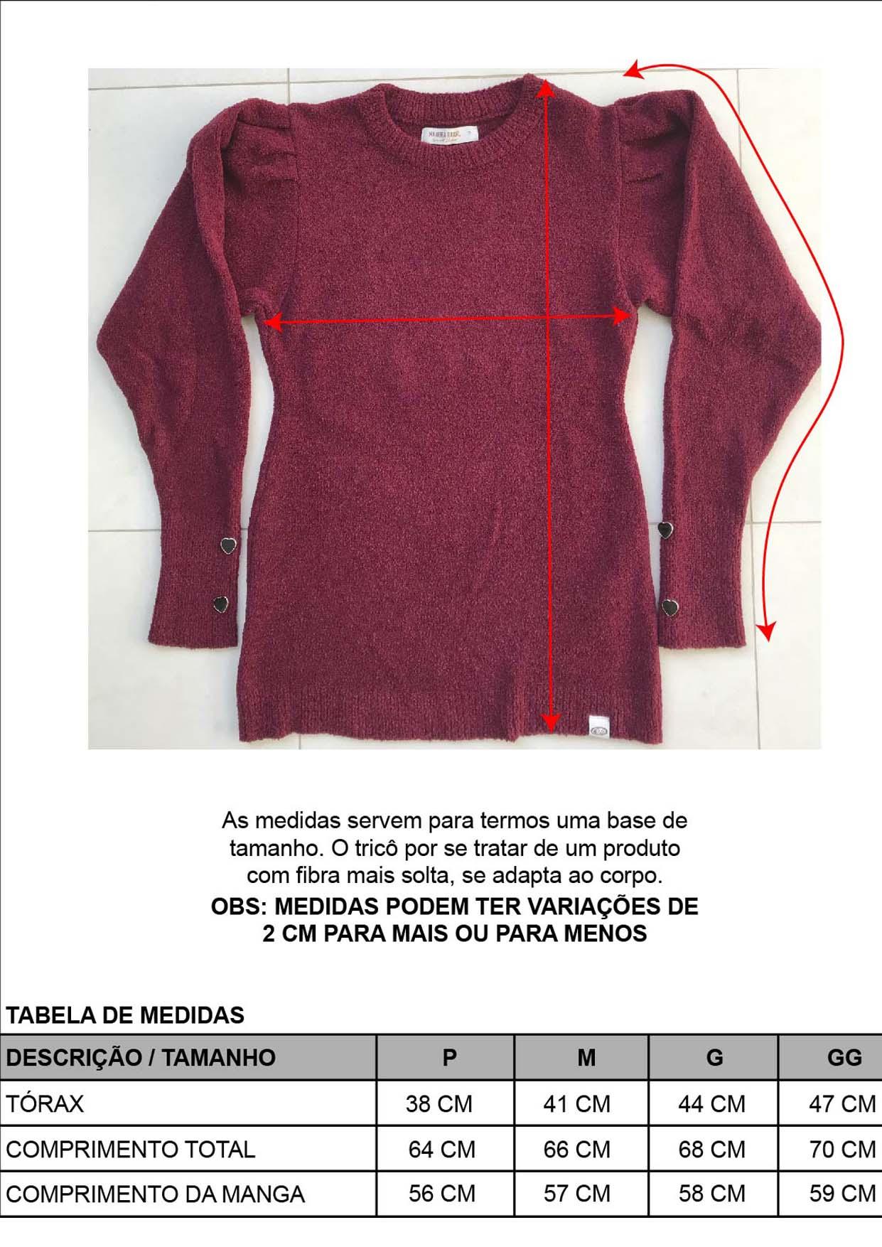Blusa Feminina Decote Redondo Marsala