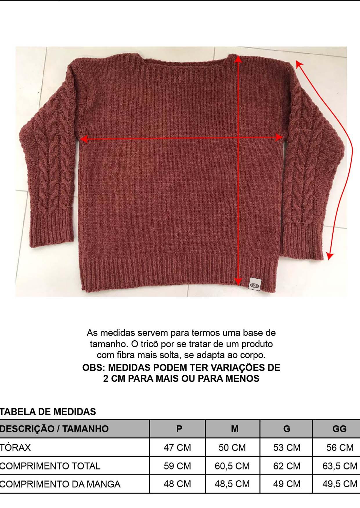 Blusa Feminina Decote Redondo Preta