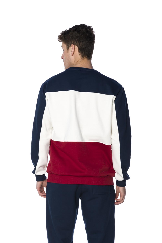 Blusa Moletom Decote Redondo Masculina Marinho