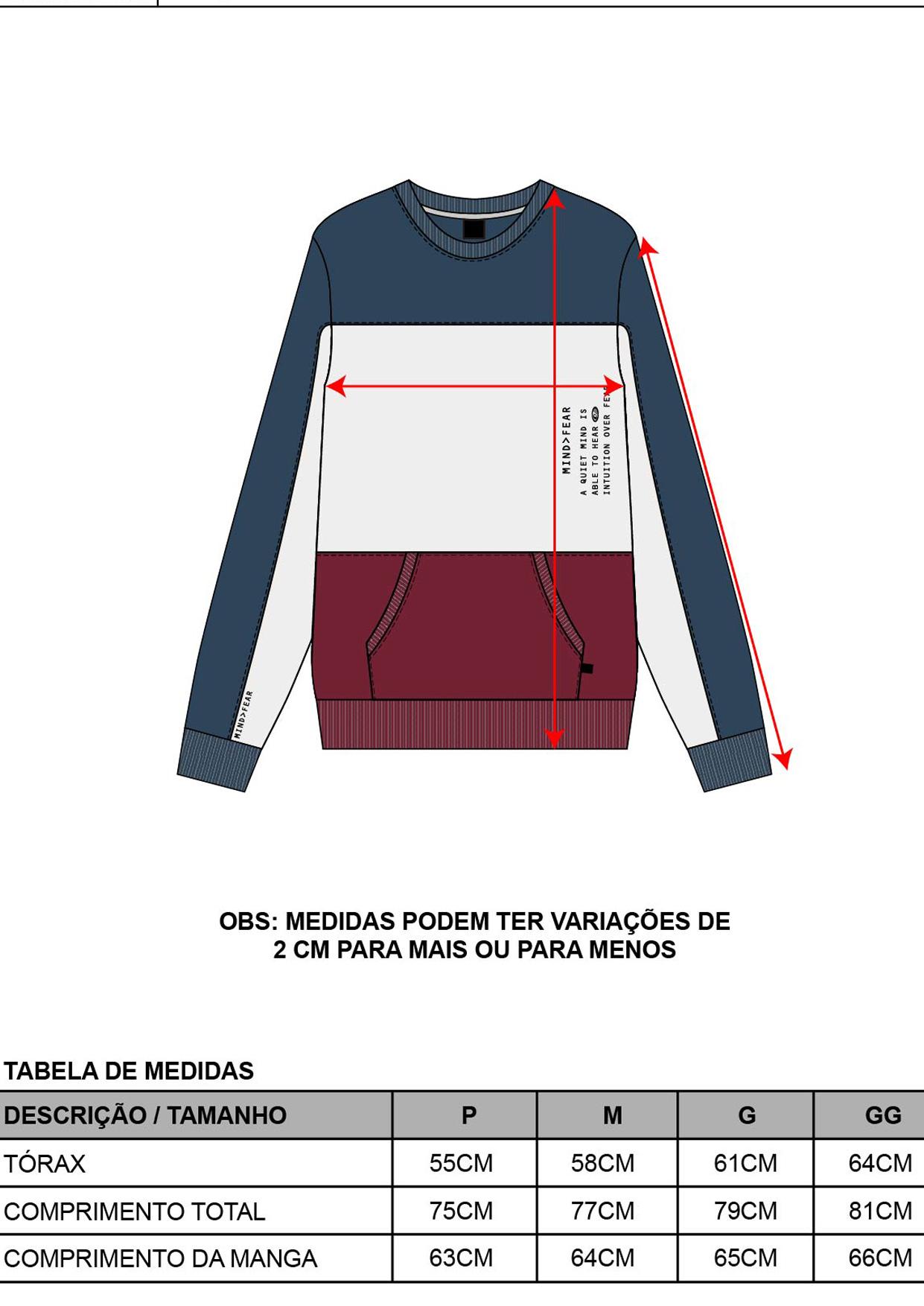 Blusa Moletom Decote Redondo Masculina Ocre