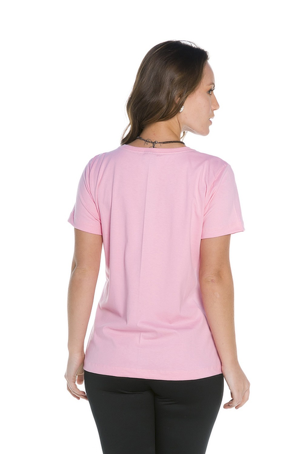 Blusinha Básica Be Real Be You Rosa