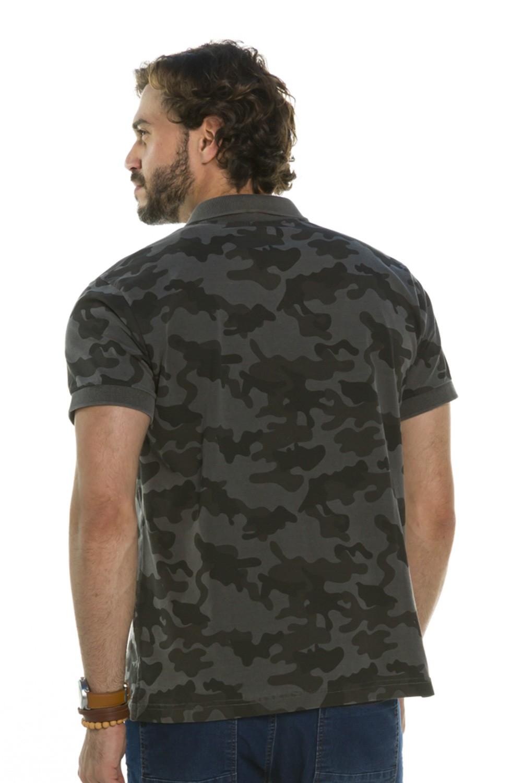 Camisa Pólo Camouflage