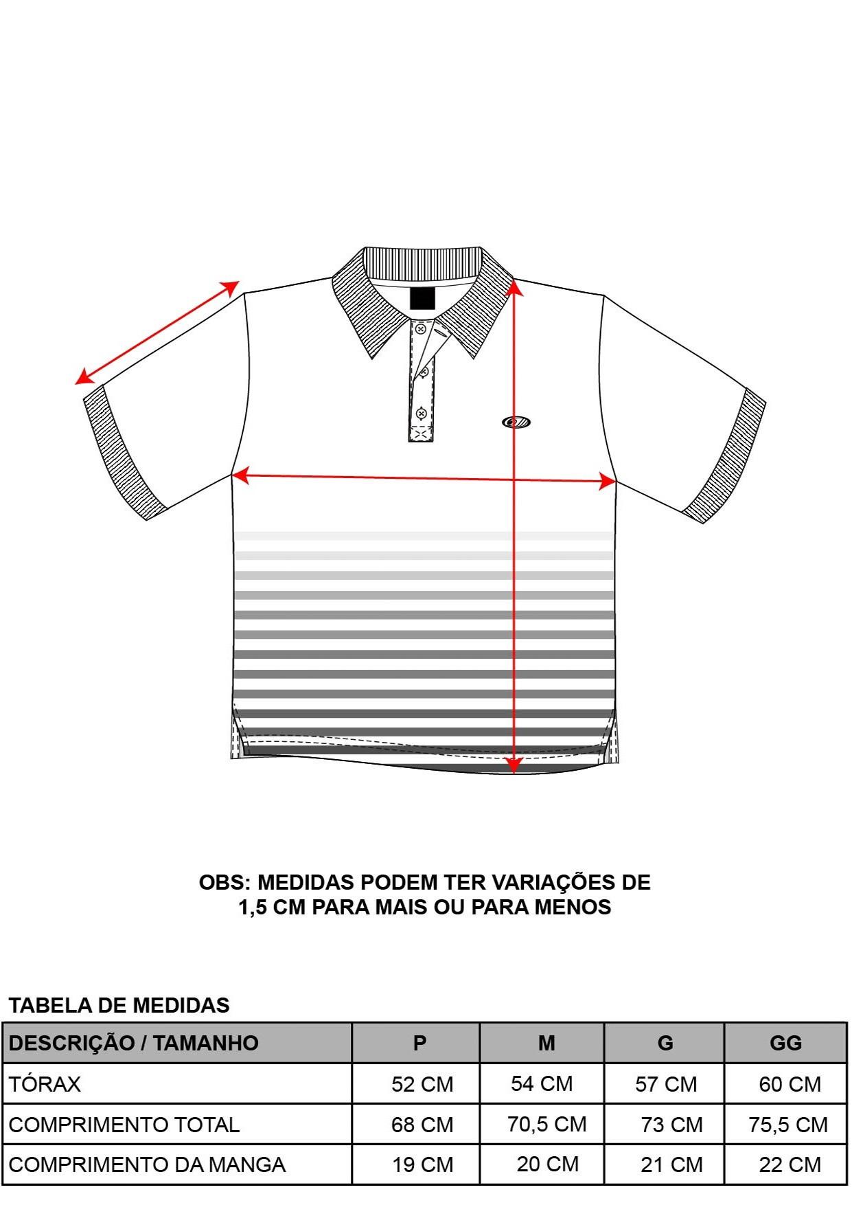 Camisa Pólo Stripes